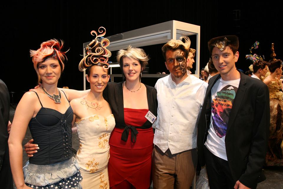 Virginie cabaret quipe de france de coiffure site for Meilleur apprenti de france cuisine