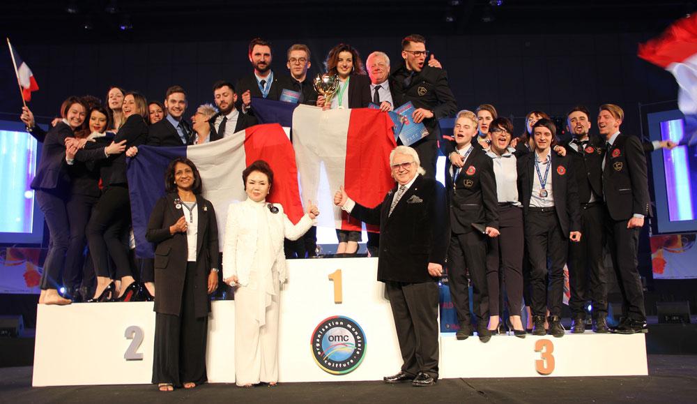La France brilleaux Championnats du monde