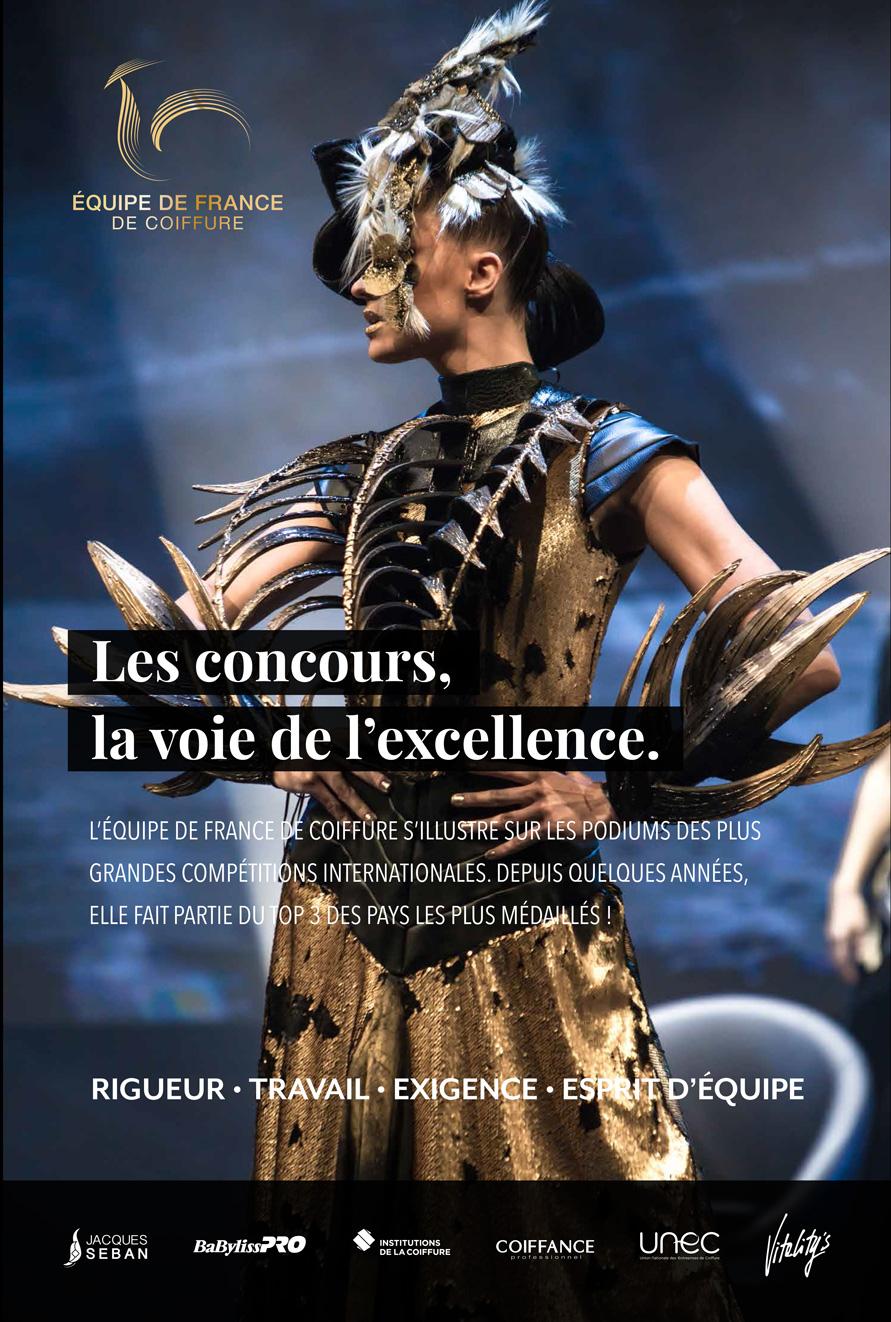 MCB by Beauté Sélection – Un stand Équipe de France!