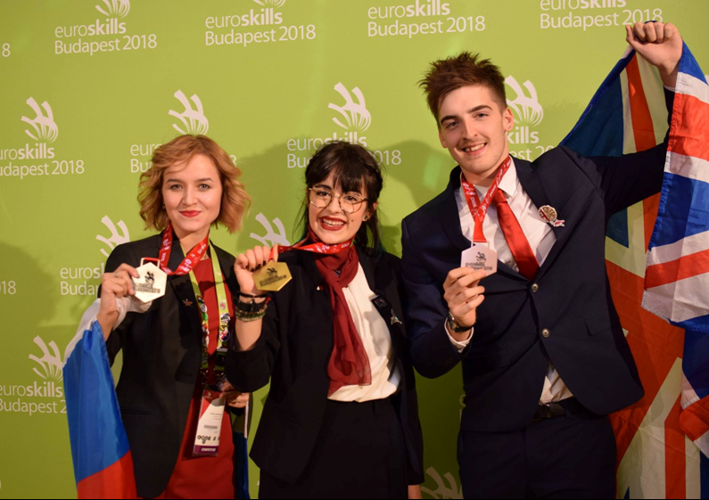 Alix Darles, médaille d'or aux Euroskills.